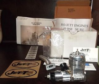 RO JETT BSE/RE 40 CONTROL LINE STUNT AIRPLANE ENGINE NEW +