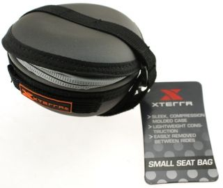 XTERRA Small Bike Bicycle Seat Bag Velcro Strap Zip NEW
