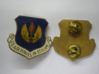 USAF AIR FORCES IN EUROPE BERET BADGE  COLD WAR ERA