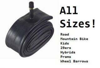 Mountain Bike Road Kids BMX Bike Bicycle Cycle Inner Tube   ALL SIZES