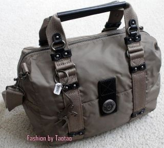 New w Tag Kipling JOANNE Satchel Shoulder Hand Bag Purse City