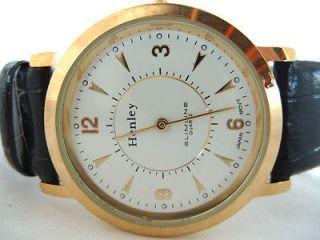 Newly listed Mens Henley Slimline Quartz Watch White Face H15