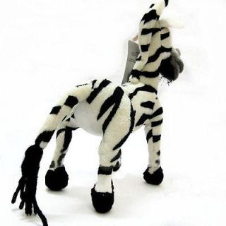Lovely Cute 11 Zebra Plush Stuffed Toy Boy Girl Madagascar 3 Marty