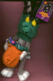 Warner  BUGS BUNNY WITCH bean bag plush toy 99 nwt