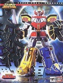 Super Robot Chogokin DAIZYUZIN Megazord Kyoryu Sentai Zyuranger Go
