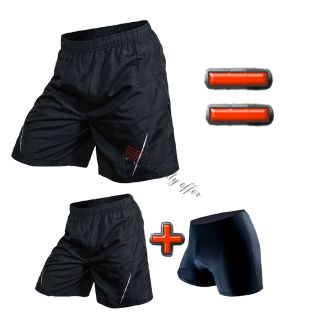 MEN LOOSE BAGGY BIKE CYCLING BICYCLE SHORTS MOUNTAIN PANTS UNDERPANTS