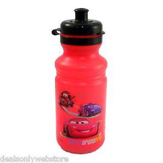 18oz Disney Pixar Cars 2 Kids Active Bike Sports POP TOP Water Bottle