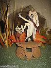 DEER HUNTING Wedding Cake Topper Kit sign tree lantern