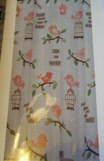 bird house curtains