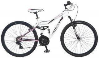 Mongoose Maxim 26 Womens Alloy Full Suspension Mountain Bike R4005A
