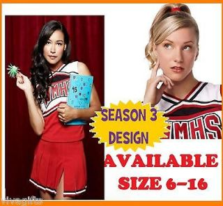 99c auction Ladies GLEE Cheerleader Costume sz M/L BARGAIN FACTORY