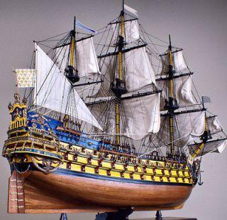Soleil Royal 44 wood model ship tall sailing boat