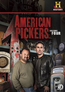 American Pickers, Vol. 4 (DVD, 2012, 2 Disc Set)