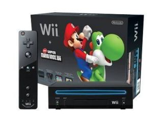 Nintendo Wii Holiday Bundle Black Console (NTSC)