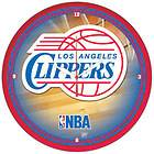 Official Los Angeles Clippers NBA Round Wall Clock