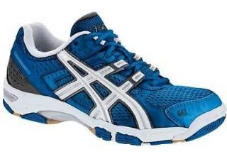 Mens Asics Gel Rocket Volleyball Shoes   B003N 4701  Blue & White