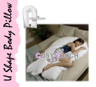 5ft U Shape Total Full Body Comfort Support Pillow Orthopaedic