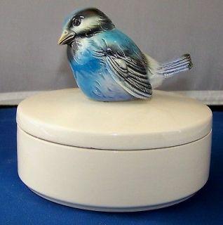 Vintage W. Germany 1974 Goebel Blue Bird Candy/Trinket Dish #8399914