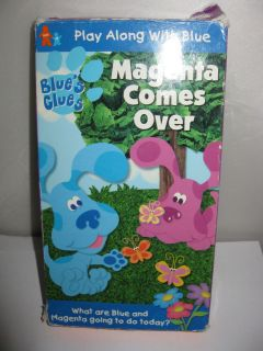 BLUES CLUES Magenta Character Toy Figures PVC