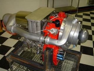 Allison 250 C28B Gas Turbine, Jet Engine, Low hrs 550 HP, NO RESERVE