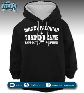 MANNY PACQUIAO HOODIE BOXING TRAINING CAMP DIBBS P4P