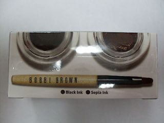 Bobbi Brown(Long Wea​r Gel Eyeliner Set)Eyes gel duo,1 Black ink