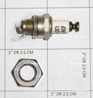 Plug & Mounting Weld Nut Turbine, Jet, Pulse Jet Engine Hobbyists