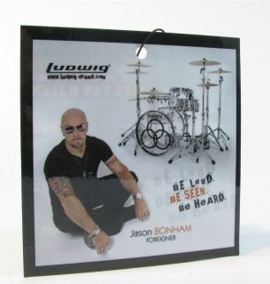 NAMM Jason Bonham   Alex Van Halen Drum Set Hang Tag