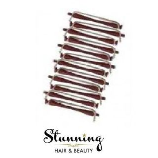 Professional Brick Red Perm Rods / Curlers Brand New Sealed Hair Tools