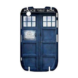 New Blue Police Call Box Dr. Who TARDIS Blackberry BB Curve 8520 9300