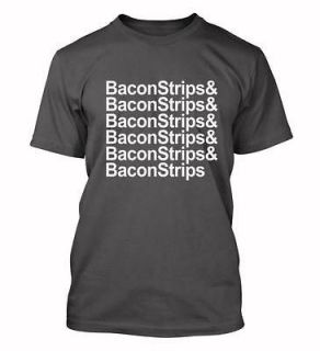 Bacon Strips Epic Meal Time shirts ham funny party T shirt Halloween