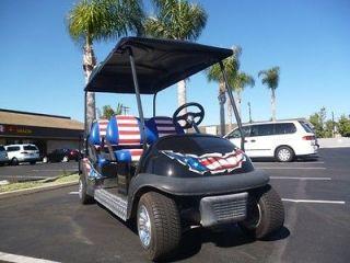 2009 usa custom GOLF CART PRECEDENT ELECTRIC CLUB CAR LIMO 6 passenger