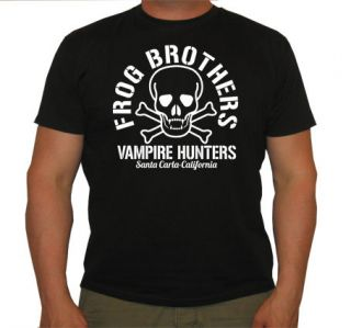 FROG BROTHERS VAMPIRE HUNTERS SKULL THE LOST BOYS MENS CULT T SHIRT