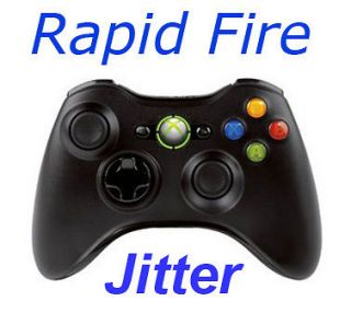 MW3 Call of Duty Black Xbox360 Rapid Fire Modded Controller JITTER
