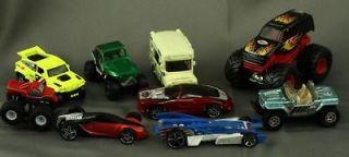 Lot Mixed Hot Wheel & Matchbox Toy Cars MAT Ice Cream Wagon Buick MBX