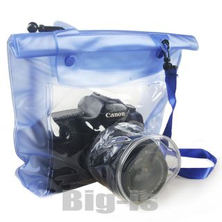 Waterproof Underwater Housing Camera Case Dry Bag for Canon 5D 7D 450D
