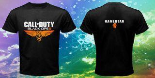 Call Of Duty Modern Warfare 3 Black Ops 2 Xbox 360 Playstation Shirt