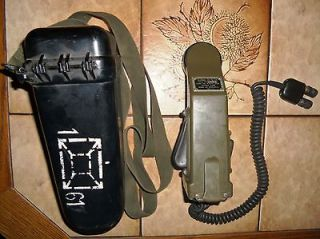 MILITARY FIELD PHONE TA 1/PT AUSTRIAN AMRY