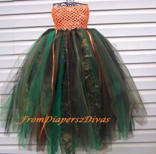 Girls Camouflage Tutu Dress Camo Tutu Dress infant to toddler size 3