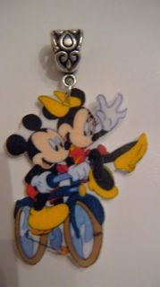Mickey Mouse Minnie Mouse Pendent Bicycle Bike FUN RIDE
