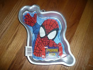 2004 WILTON cake pan SPIDERMAN 2105 5052 w/ original insert