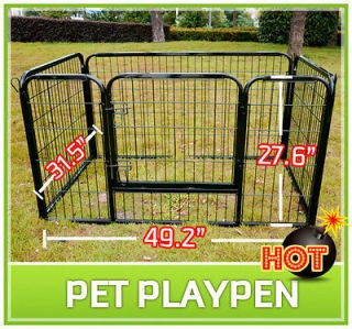 Newly listed New Heavy Duty Pet Dog Cat Exercise Pen Playpen Fence