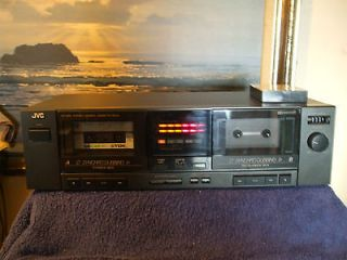 JVC TD W95 Dual Cassette Deck, Nice Condition, Fully Tested, Works