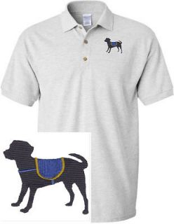 SERVICE DOG & CAT SHIRT SPORTS GOLF EMBROIDERED EMBROIDERY POLO SHIRT