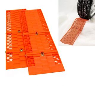 Tyre Grip Traction Tracks Mat Snow Mud Sand Rescue Car Van Truck upto