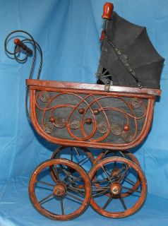 vintage doll stroller in Dolls & Bears