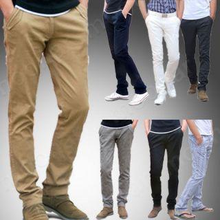 mens slim fit cargo pants in Pants