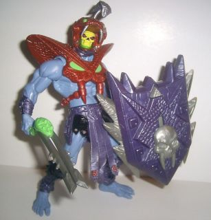 Masters of the Universe 2002 SNAKE ARMOR SKELETOR complete he man motu