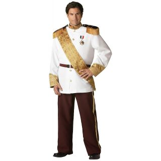 Prince Charming Adult Mens Cinderella Deluxe Halloween Costume Std