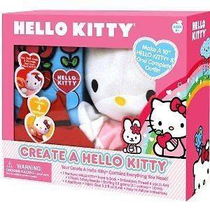 NEW Sanrio HELLO KITTY Create a Hello Kitty Stuff Dress Decorate CRAFT